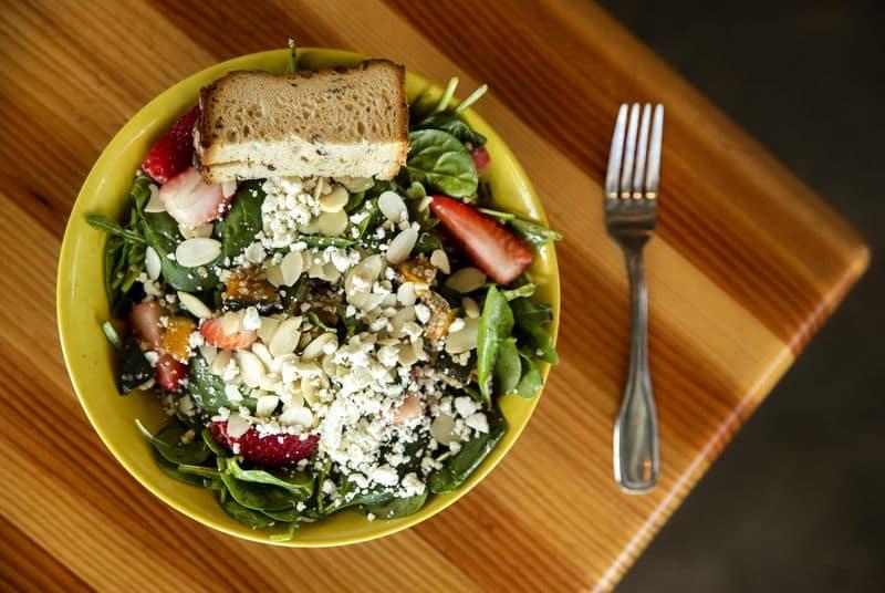 Fork & Salad Food