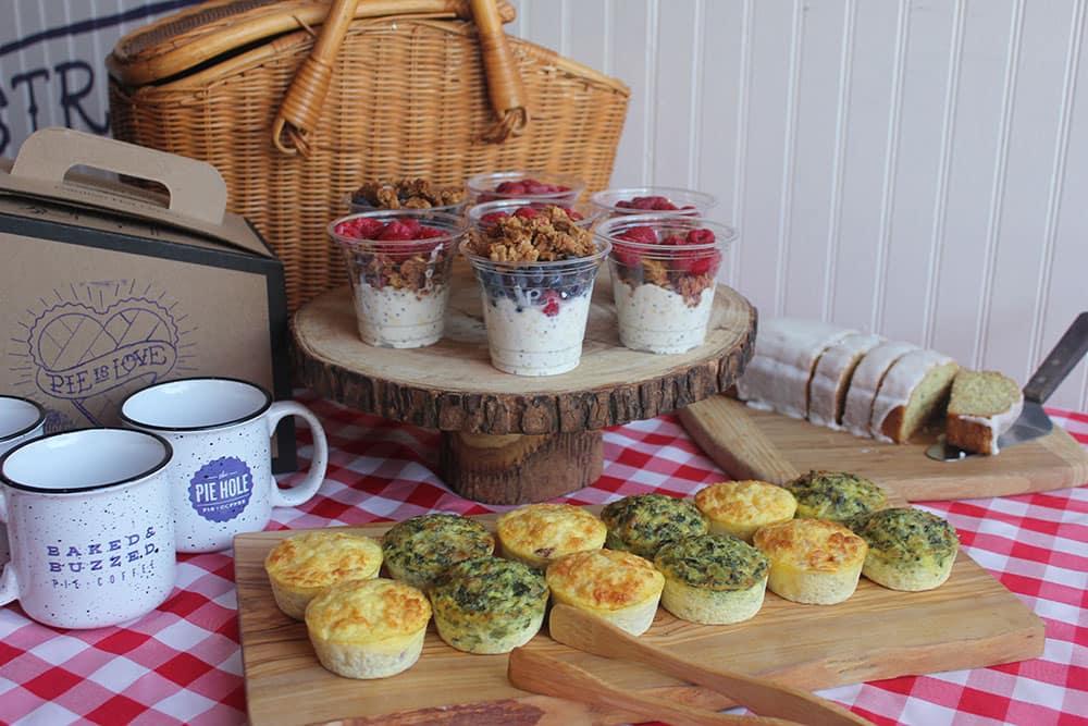 Pie Hole Food Display