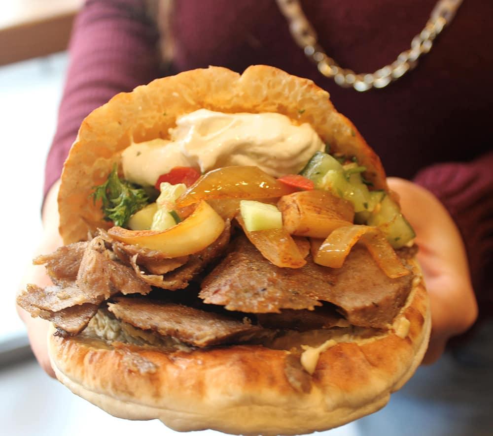 Hummus & Pita Co. Food